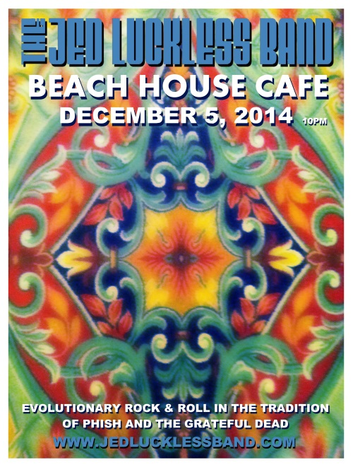 JLB @ Beach House Cafe 12 05 14 – The Jed Luckless Band