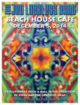 Jed Luckless Band at Beach House Cafe